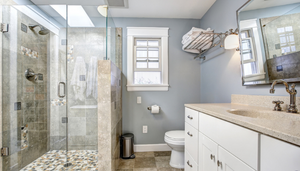 11 Cheap Bathroom Remodel Ideas That Read Spa-like