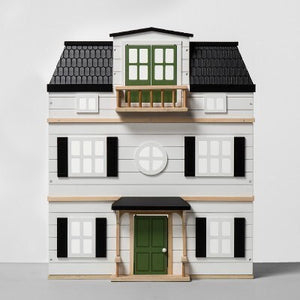 Grand Wooden Barbie House