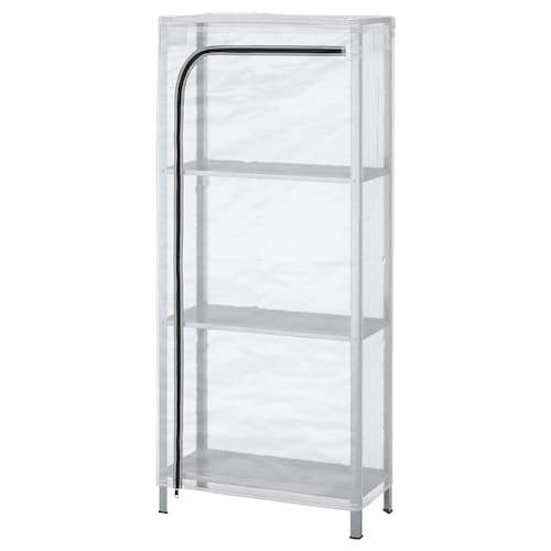 IKEA Shelving unit with cover,  60x27x140 cm No11877
