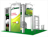 Double-Deck Truss Trade Show Booths & Displays