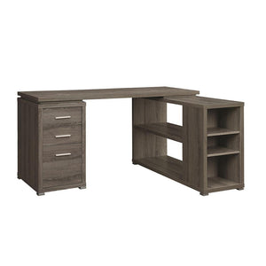 Corner Desk with Shelving Unit