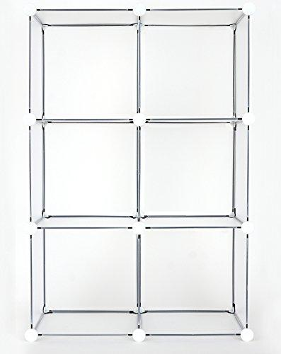 Ben&Jonah Collection 6 Cube DIY Modular Storage Unit