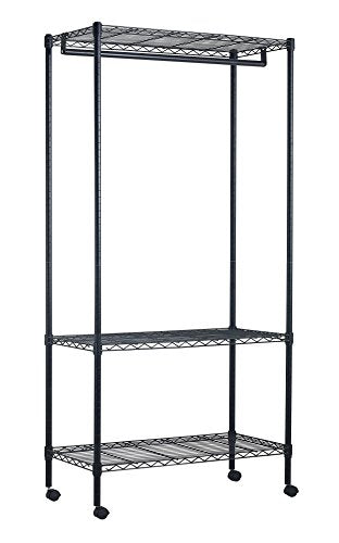 Sandusky Lee MGR3511771 Steel Garment Rack with Canvas Cover, 35