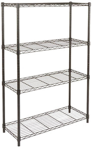 Basics 5-Shelf Shelving Unit - Chrome