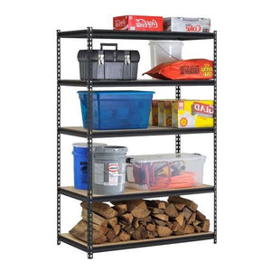 Heavy Duty 2-ft Wide 5-Shelf Storage Rack Shelving Unit