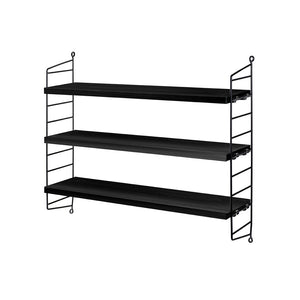 String Pocket Shelf - Black