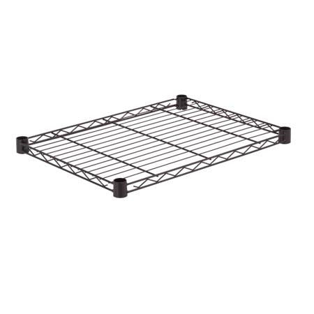18x24-Inch Steel Shelf with 350-lb Weight Capacity, Black
