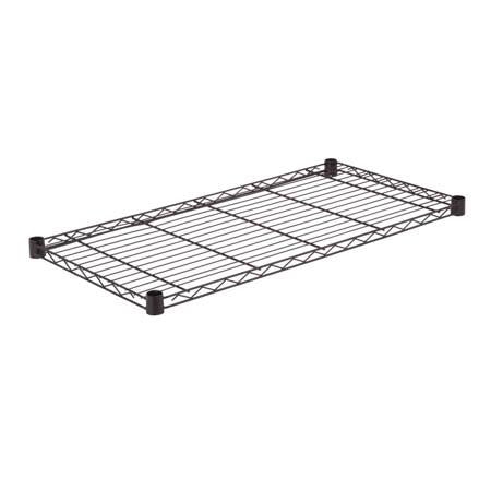 Steel Shelf-350lb black 18x36