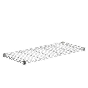 Steel Shelf-350lb chrome 16x36