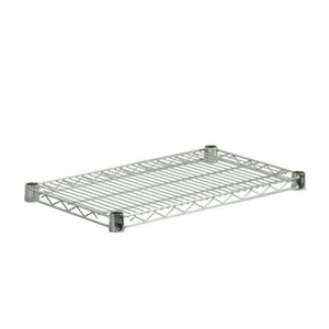 14x36 Steel Shelf with with 800lb Weight Capacity, Chrome