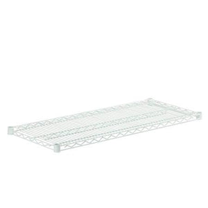 18x42 Steel Shelf with 800lb Weight Capacity, White