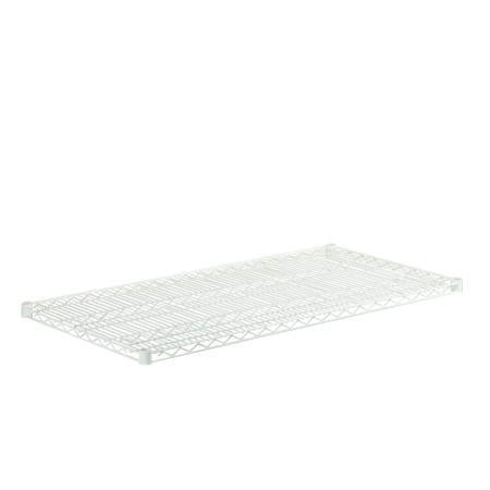 18x48 Steel Shelf with 800lb Weight Capacity, White