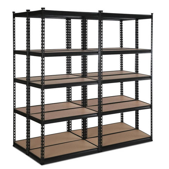 Giantz 4X0.7M Warehouse Rack Racking Steel Metal Garage Storage Shelving