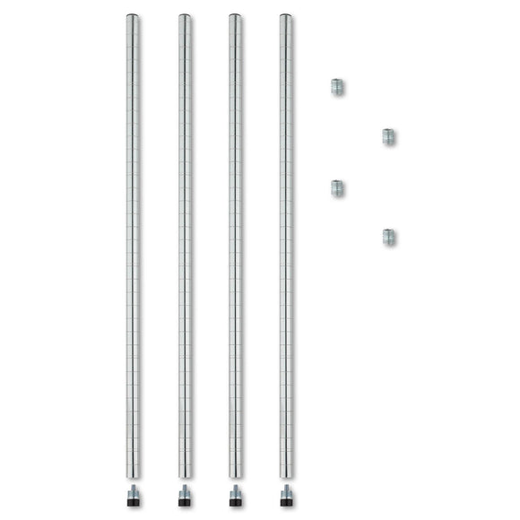Alera Stackable Posts For Wire Shelving, 36