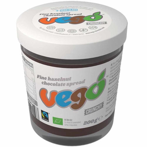 Vego Crunchy Hazelnut Chocolate Spread - 200g