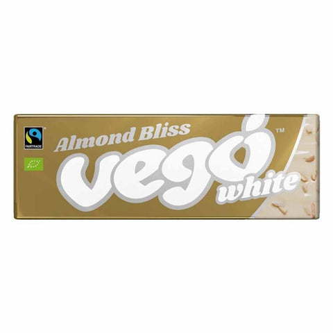 Almond Bliss - Vego White Chocolate Bar