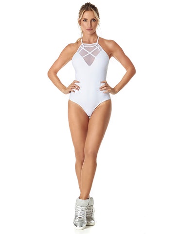 BRUNELLA BODYSUIT - WHITE - BD111.002