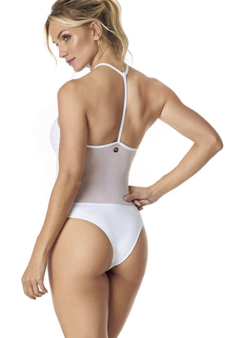 DJW BODYSUIT - WHITE
