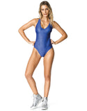 BODYSUIT -ALLIGATOR BLUE - BD78.002