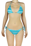 DJW BIKINI SET - BLUE/ WHITE PATTERNED - KIT197.007