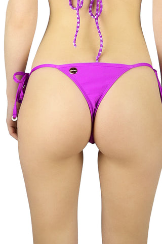 DJW BIKINI [LONG BEACH FUCHSIA BOTTOMS]