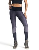 JAG LEGGING - BLACK/PURPLE