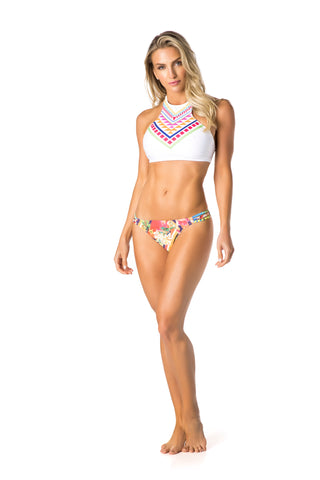 DJW BIKINI [HALF TOP KINI SET]-KIT275.001