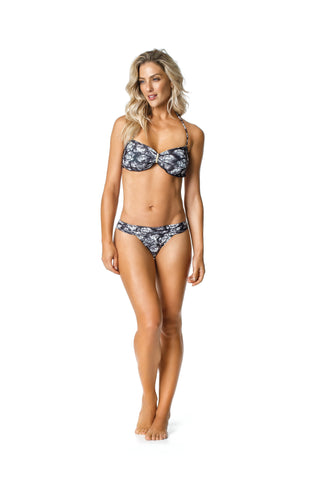 DJW BIKINI SET - BLACK/GREY LION PATTERNED - KIT276.002