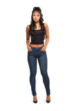 SABRINA MID-RISE SKINNY (MEDIUM BLUE)