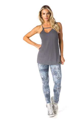 MESCLA TANK - HEATHER ATHLETIC GREY - REG321.002