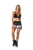 ACTIVE SHORTS - BLACK/WHITE/GREY - SH102.002