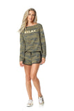 SH133.001 SHORT - GREEN CAMOFLAUGE