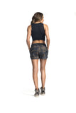 ACTIVE SHORTS - BLACK/ CAMOUFLAGE - SH174.001