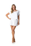 SWIMSUIT COVER UP DRESS - WHITE - SP59.004