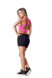 ACTIVE TOP AMENAH - NEON PINK - TOP11.021