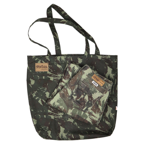 DJW Tote Bag [Brazilian Military Camo]