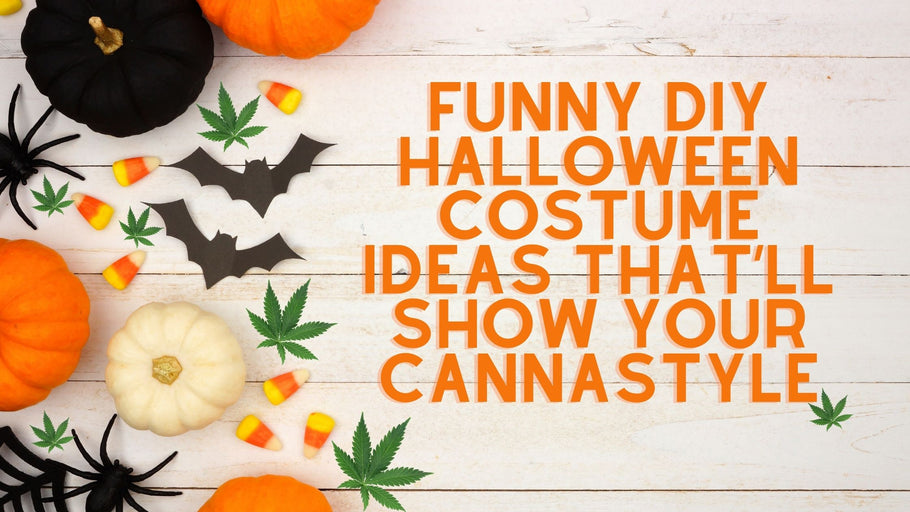 Funny DIY Cannabis Themed Halloween Costumes