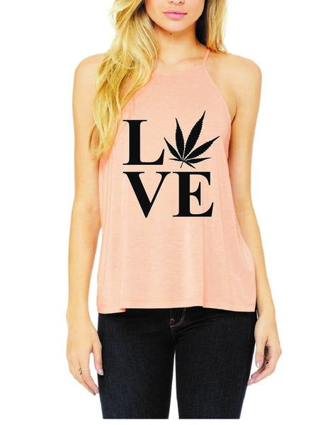 CannaLove Tank - Think Hemp Chicks