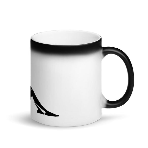 CannaGirl Matte Black Magic Mug - Think Hemp Chicks
