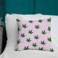 CannaPink Premium Pillow - Think Hemp Chicks