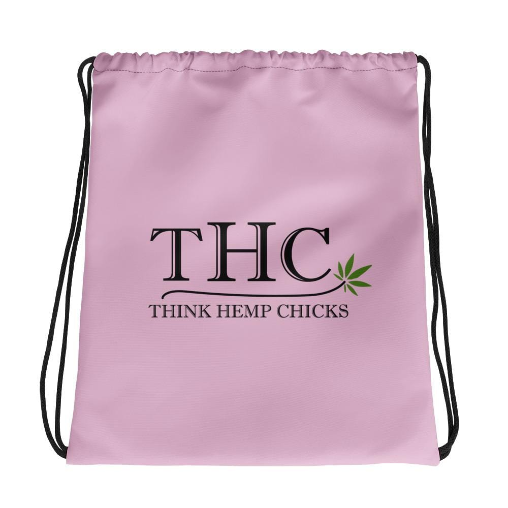 Think Hemp Chicks Drawstring bag