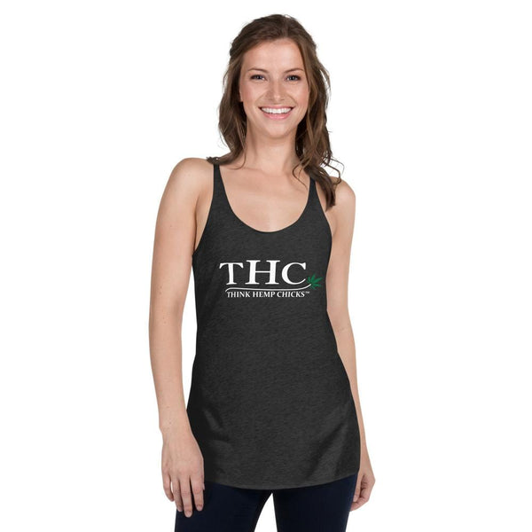 Think Hemp Chicks™ Women's Racerback Tank - Think Hemp Chicks