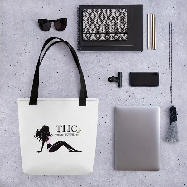 CannaChicks Tote Bag - Think Hemp Chicks