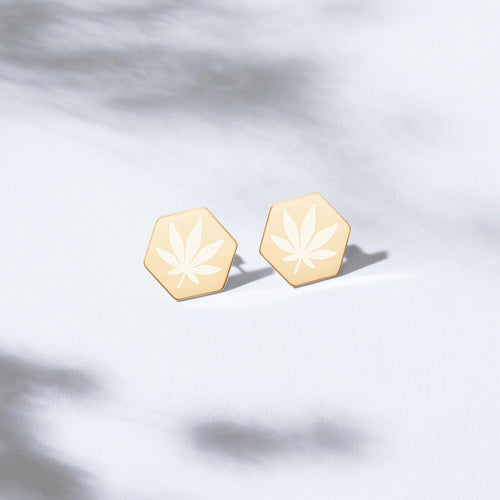 Exclusive THC  Stud Earrings
