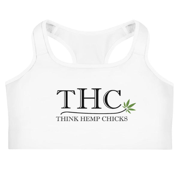Think Hemp Chicks Sports Bra - Think Hemp Chicks
