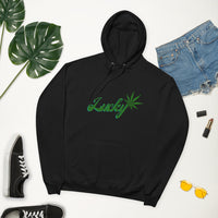 Lucky Unisex fleece hoodie - Think Hemp Chicks
