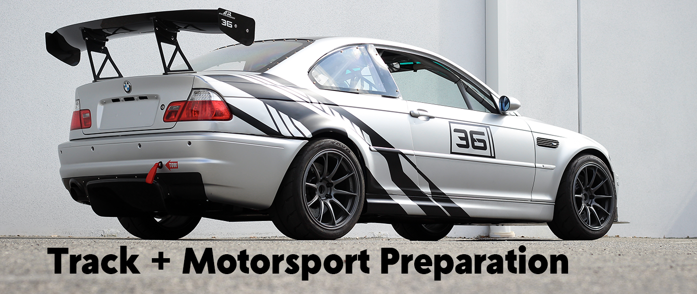 BMW Track and Motorsport Preparation