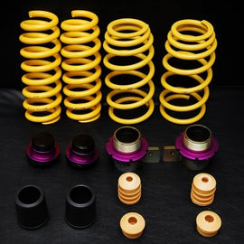 KW Suspensions E82 1M Height Adjustable Spring Kit