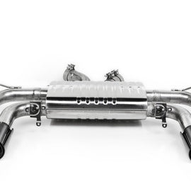 Eisenmann F85 X5M / F86 X6M Performance Exhaust + 4x90mm Carbon Tip Set - Sport