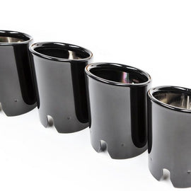BMW F8X M3 / M4 Competition Package Exhaust Tip Set - Black Chrome